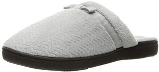 Isotoner Women's Chevron Clog W/Smartdri Slip on Slipper
