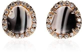 Kimberly Mcdonald zebra opal and diamond earrings