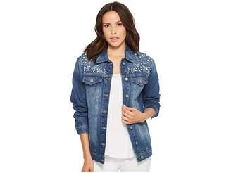 Mavi Jeans Karla Relaxed Jacket in Mid Pearl Women's Coat