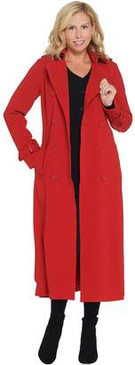 Linea By Louis Dell'olio by Louis Dell'Olio Petite Length Long Trench