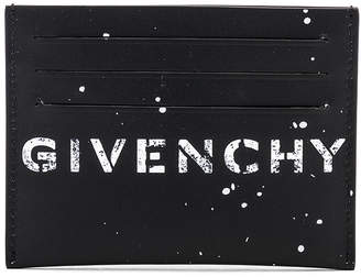 Givenchy Graffiti Logo Cardholder