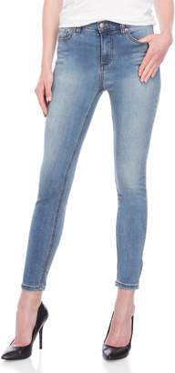 Free People High-Rise Roller Crop Skinny Jeans