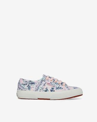 Express Superga Hawaiian Floral Sneakers
