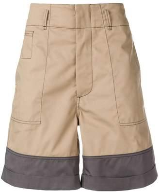 Marni two-tone shorts