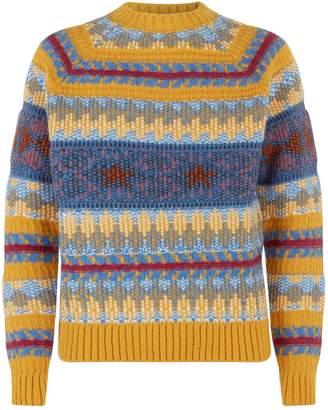 Acne Studios Jacquard Knit Sweater