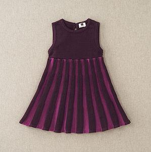 Bryggen Stripe Sweater Dress
