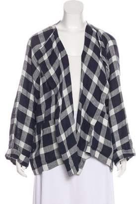 eskandar Linen Oversize Cardigan