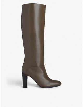 LK Bennett Reegan leather knee boots