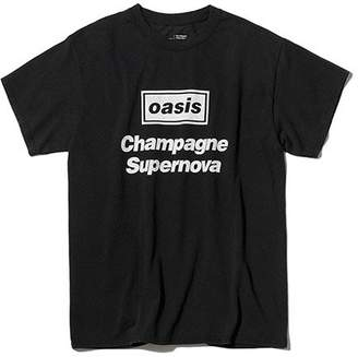 ADAM ET ROPÉ (アダム エ ロペ) - oasis for ADAM ET ROPE' SONG LYRICS T-shirt 「Champagne Supernova」