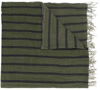 Uma Wang fringed knitted scarf
