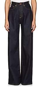 Fiorucci Women's Billy Wide-Leg Jeans-Lt. Blue Size 26