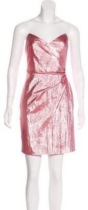 Nicole Miller Metallic Strapless Dress w/ Tags