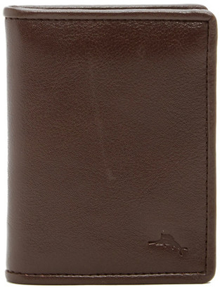 Tommy Bahama Leather L-Fold Wallet $68 thestylecure.com