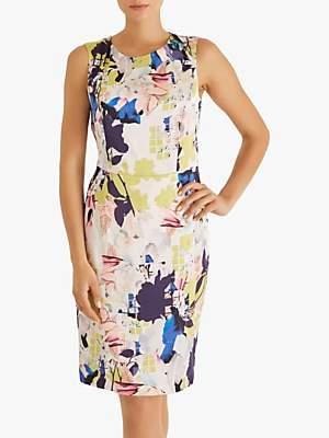 Fenn Wright Manson Kiku Silk Floral Dress, Multi