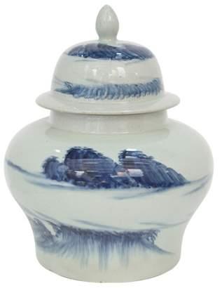 Cumulus Ceramic Ginger Jar