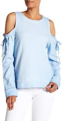 Sanctuary Parkside Cold Shoulder Sweater
