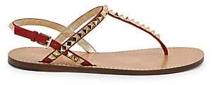 Valentino Women's Rockstud No Limit T-Strap Thong Sandals