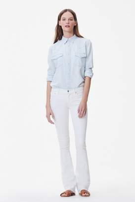 Citizens of Humanity White Bootcut Jeans