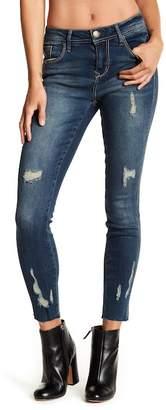 Seven7 Distressed Raw Edge Jeans