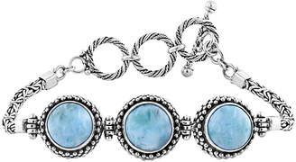 Rob-ert Robert Manse Designs Bali Silver Larimar Bracelet
