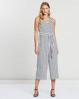 Banana Republic Cropped Jumpsuit
