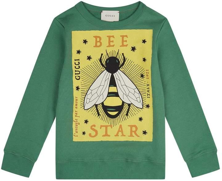 Bee Print Sweatshirt