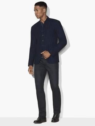 John Varvatos Indigo Multi-Button Jacket