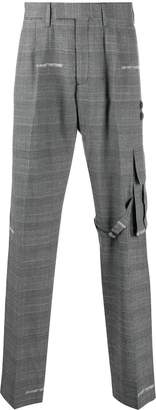 Off-White houndstooth tailored trousers