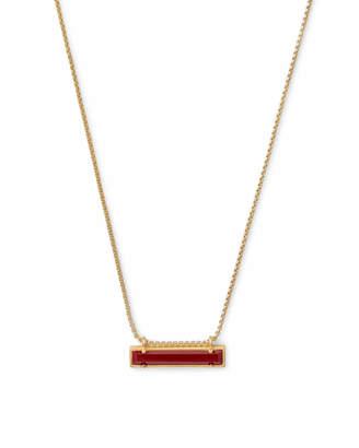 Kendra Scott Leanor Pendant Necklace in Gold