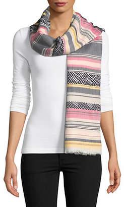 Calvin Klein Yarn Dye Textured Scarf