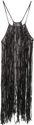 Caravana Bulkabal long fringed dress