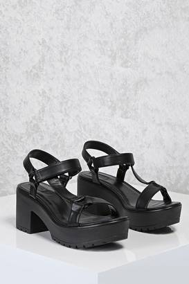 FOREVER 21+ Chunky Platform Sandals $29.90 thestylecure.com