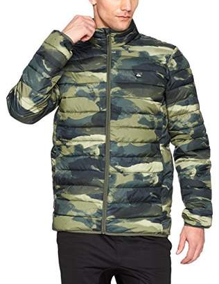 Quiksilver Mens Scaly Full Zip Puffy Jacket