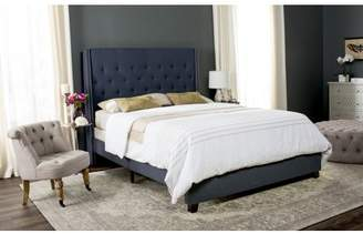 Safavieh Winslet Bed with Nail Heads, Available in Multiple Colors and Sizes