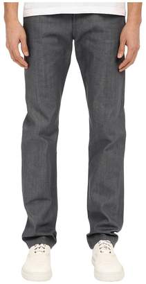 Naked & Famous Denim Weird Guy Grey Selvedge Denim Jeans Men's Jeans