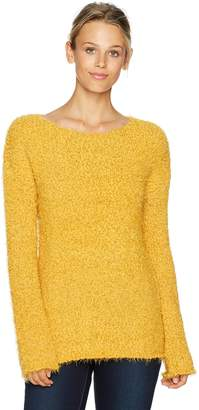 BB Dakota Women's Debra Eyelash Pullover Sweater