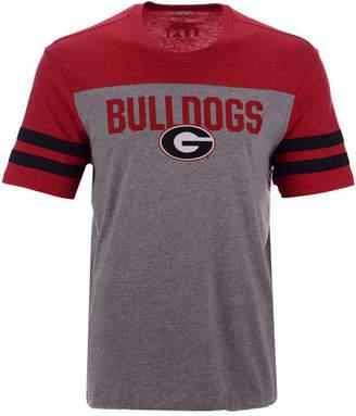 '47 Men's Georgia Bulldogs Tri-Colored T-Shirt