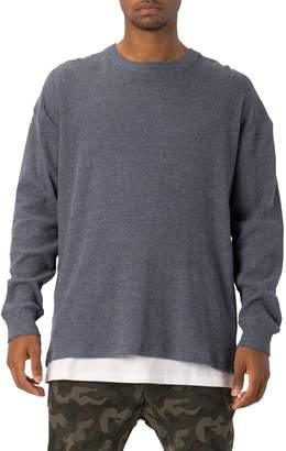 Zanerobe Rugger Waffle Knit Long Sleeve T-Shirt