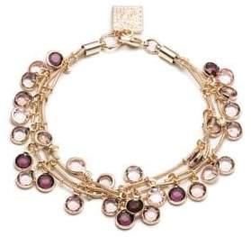 Anne Klein Crystal Multi-Row Bracelet