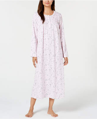 663940eb37 Charter Club Printed Long Cotton Nightgown