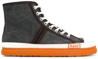 Martine Rose canvas basketball boots