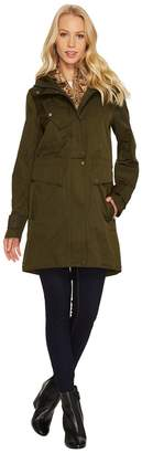 Vince Camuto Parka with Removable Bib N8781 Women's Coat
