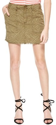 Women's Sanctuary Lily Print Twill Miniskirt $89 thestylecure.com
