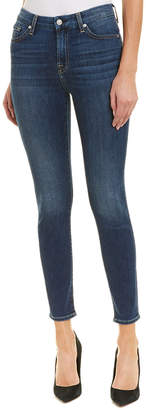 7 For All Mankind Seven 7 Gwenevere Medium Wash High-Rise Ankle Cut