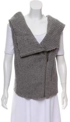 Helmut Lang Merino Wool Hooded Vest