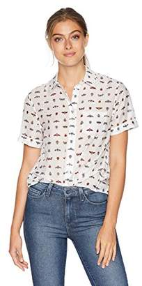 Equipment Women's Intramural Insects Printed Elley Blouse