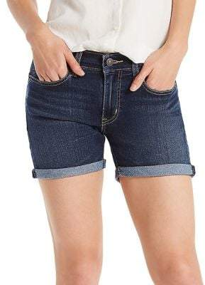 Levi's Lost Blues Mid-length Denim Shorts