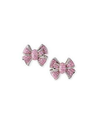 Fallon Diamante Bow Stud Earrings