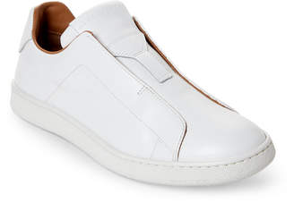 Marc Jacobs White Laceless Slip-On Sneakers