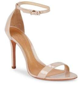 Schutz Cadey-Lee Patent Leather Ankle-Strap Heels